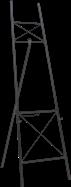 Easel - 1.8m H