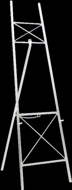 Easel - White - 1.8m H