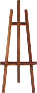 Easel - Timber - 1.5m H