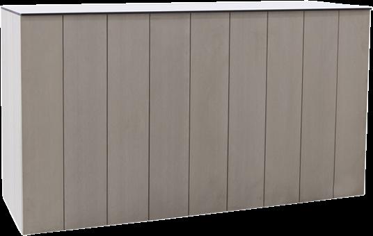Food Station - Horizon - Grey - 60 x 180 x 90cm H