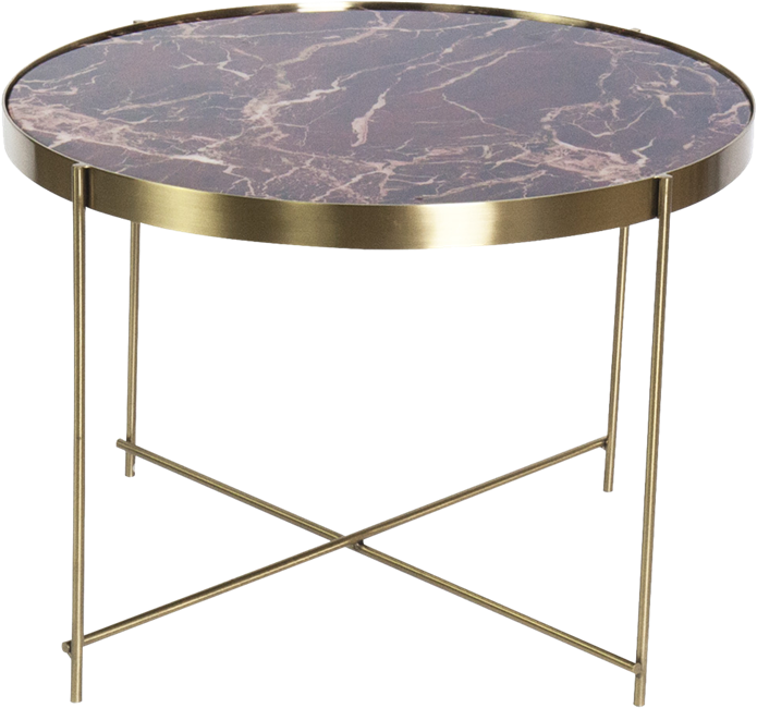Gold Gatsby Side Table