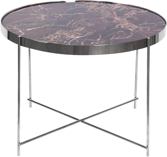 Silver Gatsby Side Table