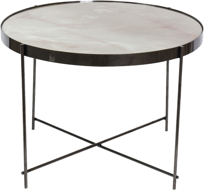 Black Gatsby Side Table