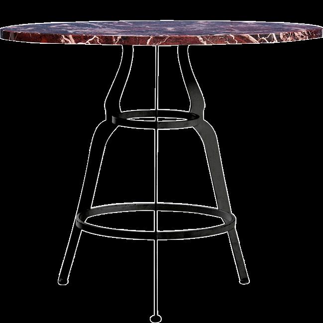 Black Gondola Cafe Table
