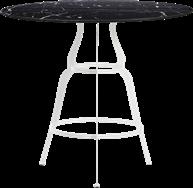 White Gondola Cafe Table