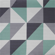 Geo Table Cloth - Mint - 2.1 x 2.1m