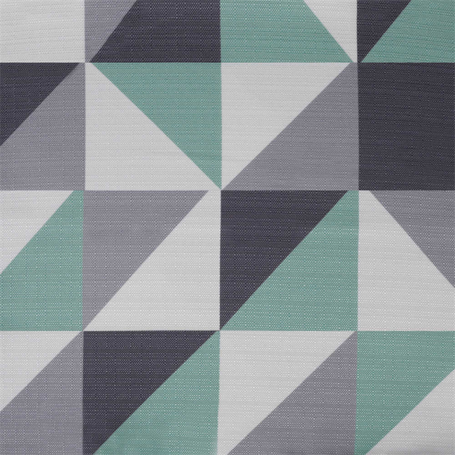 Geo Table Runner - Mint - 2.7m x 25cm