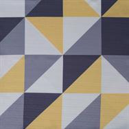 Geo Table Runner - Lemon - 2.7m x 25cm