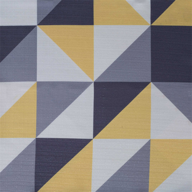 Geo Table Cloth - Lemon - 2.1 x 2.1m