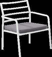 Grace Lounge Chair - White