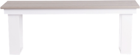 Horizon Bench - Grey - 40 x 120 x 45cm H