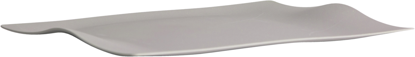 Kira Platter Rectangular - Grey - 50 x 36cm
