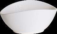 Storm Bowl - White - 13 x 10 x 6cm H