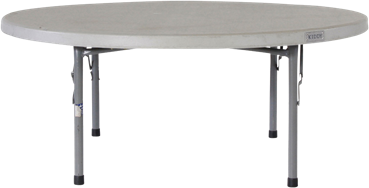 Children's Dining Table - Poly - 120 x 48cm H Rnd