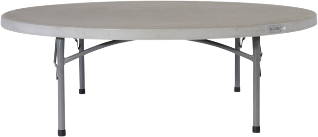 Children's Dining Table - Poly - 150 x 48cm H Rnd