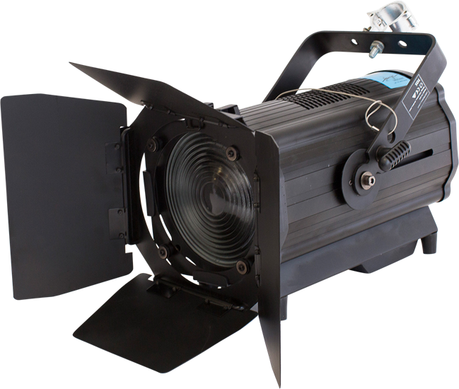 LED Fresnel DMX Dimmer and Zoom
