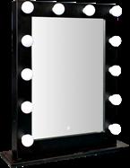 Hollywood Make-up Mirror - black (12 globes)