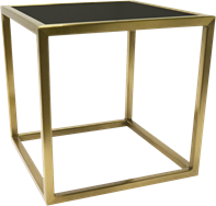 Gold Linear Table Riser Frame- 30 x 30 x 30cm H