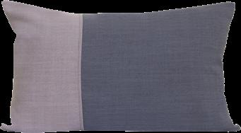 Natural Rectangle Cushion - Blush/Grey - 35 x 50cm