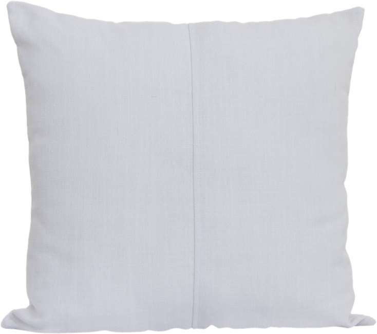 Natural Cushion - White - 50 x 50cm