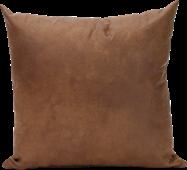 Leather Cushion - Tan - 45 x 45cm