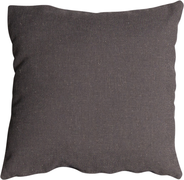Mason Cushion - Charcoal Linen - 45cm x 45cm