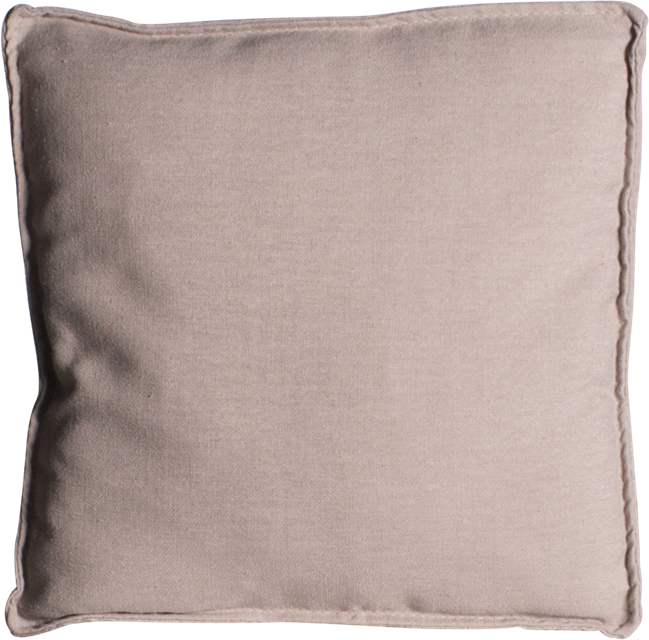 Mason Cushion - Natural Linen - 50 x 50cm