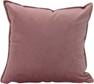 Velvet Cushion - Rose - 45 x 45cm