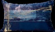 Velvet Cushion - Midnight - 35 x 50cm