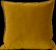 Velvet Cushion - Mustard - 45 x 45cm
