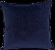 Velvet Cushion  - Navy - 45 x 45cm