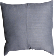 Weave Cushion - Dusty Blue - 50 x 50cm