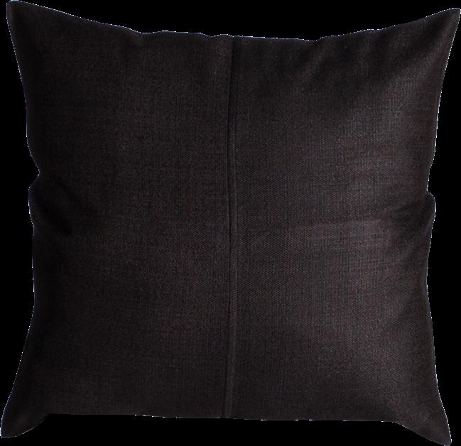 Weave Cushion  - Black - 50 x 50cm