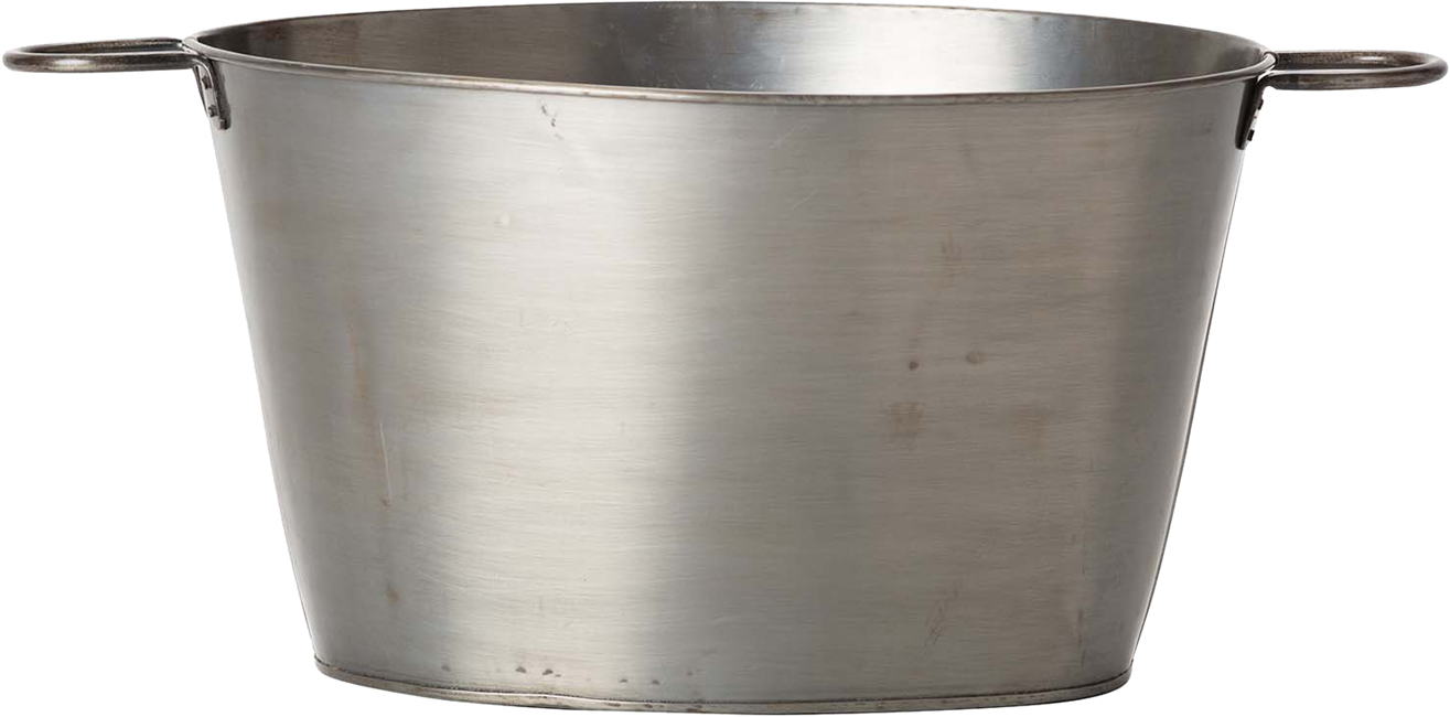 Ice Tub Large - Galvanised