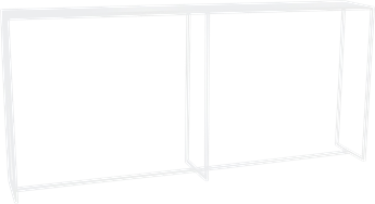 Linear Drinks Ledge - 240 x 40 x 110cm H