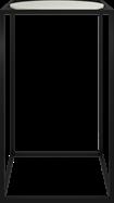 Black Linear Bar Table