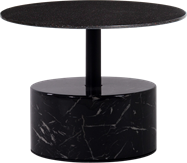 Black Marble Base Coffee Table