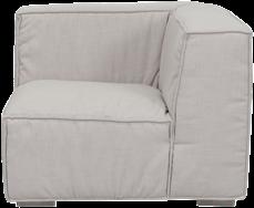 Mason Corner Lounge - Natural Linen