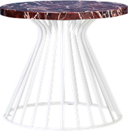 White Monroe Coffee Table