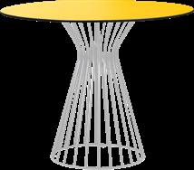 Grey Monroe Cafe Table
