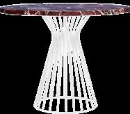 White Monroe Cafe Table