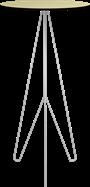 White Mantis Bar Tables