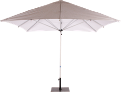 Umbrella Aluminum - White - 3m Sq