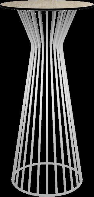 White Monroe Bar Table