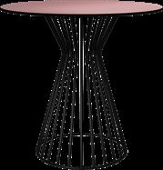 Black Monroe Cafe Table