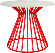 Red Monroe Coffee Tables