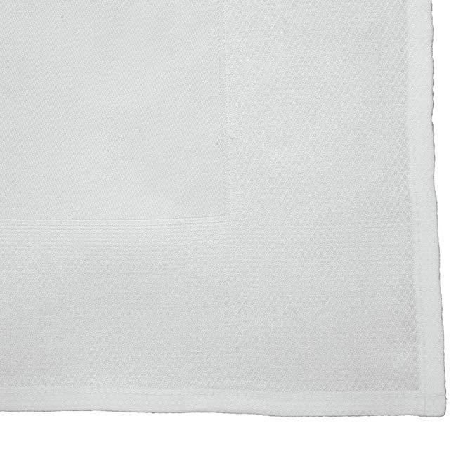 Napkins - white - border