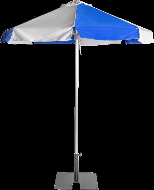 Umbrella - Blue - 2m - Octagonal