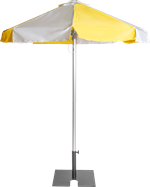 Umbrella - Yellow - 2m - Octagonal