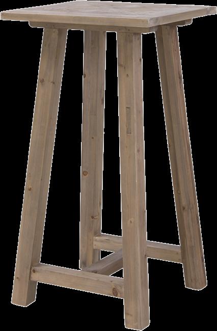 Parquetry Bar Table - 60 x 60cm Sq